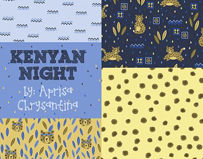 """""""Kenyan Night"""" Pattern Collection"""