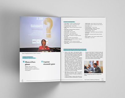 Editorial Design for different projects