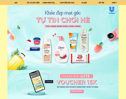 Unilever International x Shopee June Campaign