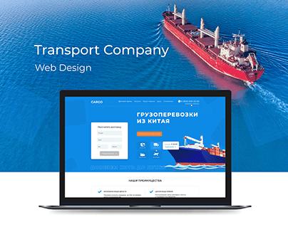 Transport and logistics Company. Concept