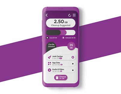 Mobile Cleaner App