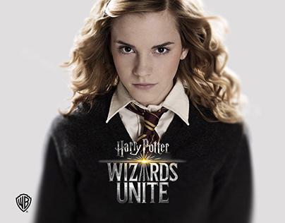 Harry Potter Wizards Unite - UI/UX Design