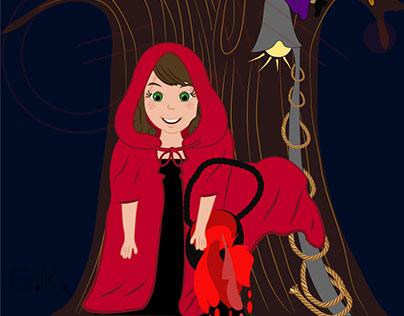 Kırmızı başlıklı kız ve üç gözlü canavar