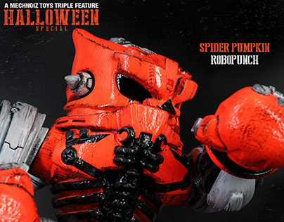 Halloween Special - Custom Mechnoiz Toy's Robopunch