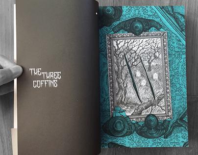'The Three Coffins' book illustration