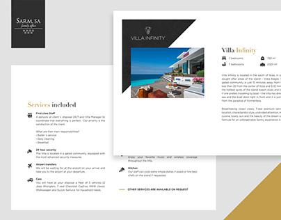 Luxury Villa Services