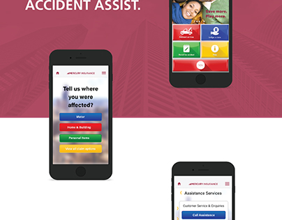 Mercury Insurance Mobile Application