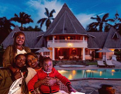 Family reunion Diani, Kenya.