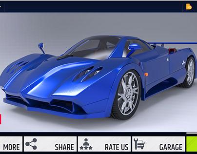Car Racing Game UI/UX
