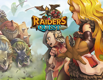 Animation Sample On Raider Quest game