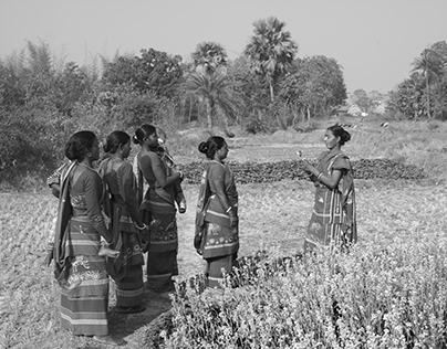 Santhal women