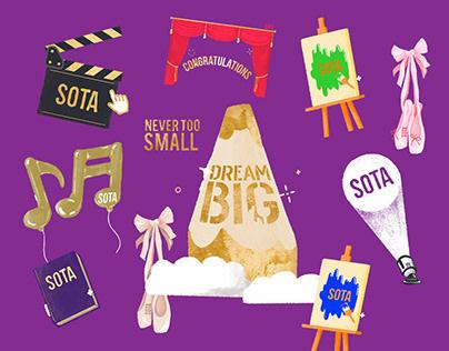 SOTA Awards Day 2020 IG Animated Stickers