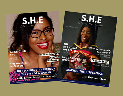 The SHE Magazine for Blue Streets NG