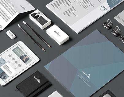 Brand identity - Mansoft