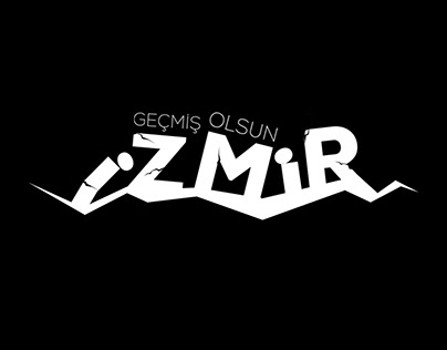 EARTHQUAKE LOGOTYPE #İZMİR
