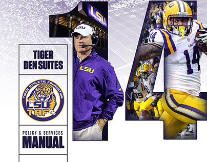 2014-2015 LSU Guide Covers