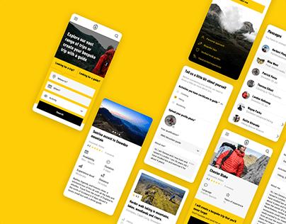 Guide Base - Online platform for outdoor guides