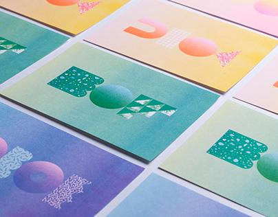 Graphic Sculpture Series I