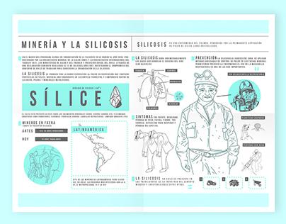 Infografía - Minería y la silicosis