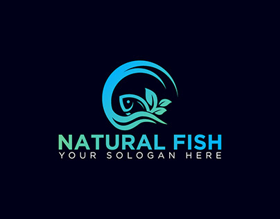 Natural fish Logo