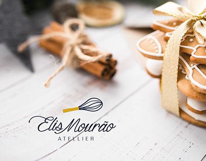 Projeto gráfico e branding Elis Mourão