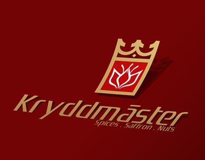 Design of Kryddmaster logo in Sweden By zarif graphic