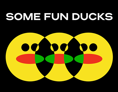 Some fun ducks - illustrations for fun