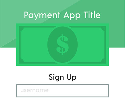 Daily UI Challenge: #001 Sign up App Screen