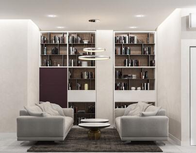 Mild minimal apartment
