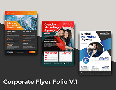Corporate Flyer Folio V1
