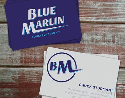 Blue Marlin - Logo & Business Card Design