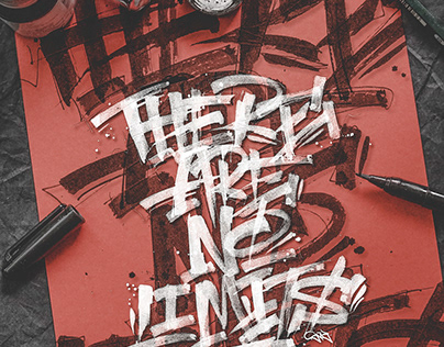 There are no limits - Lettering