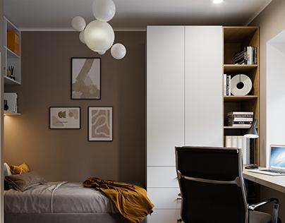 Small scandinavian apartments, Jurmala