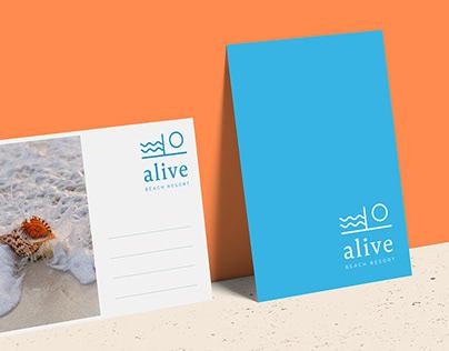 Alive Beach Resort - Branding