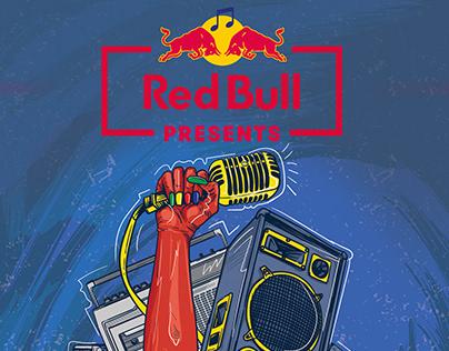 RED BULL MUSIC ABANTU POSTER