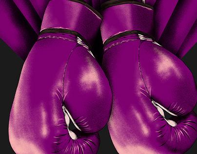 aggresive purple