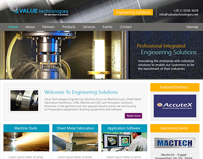 Value Technologies Website