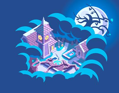The Witchwood (fan art illustration)
