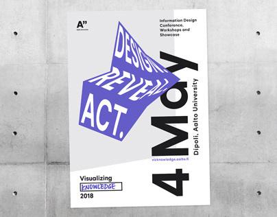 Visualizing Knowledge 2018 – conference identity