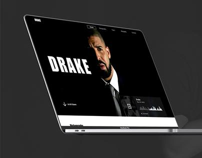 Drake - Web Design