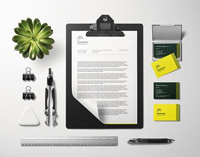 Momento - Re-branding & Web Design