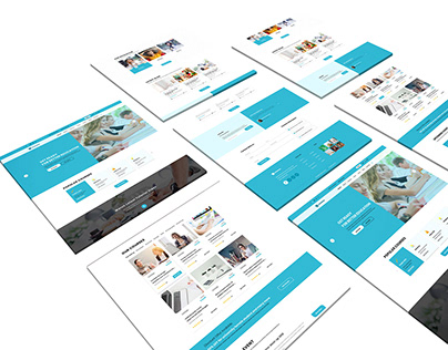 UI Design for Educational Website