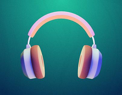 Stylised Headphones