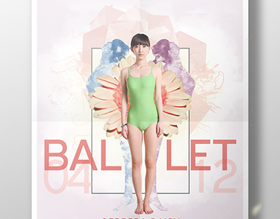 Gerbera Daisy Ballet Poster