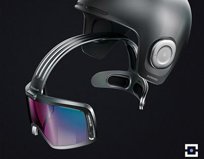 AR Ski Goggles + Helmet