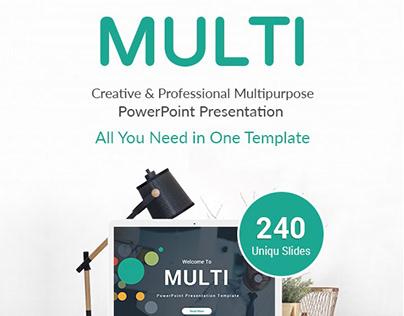 Multi Business PowerPoint Template Design