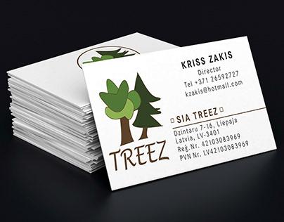 Logo, Business cards, Branding, Nature, Trees
