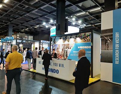 Grafica stand per Mondo S.p.A. - Fiera FSB Colonia 11-2