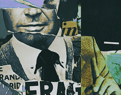 Tribute to a teacher // Collage Prints