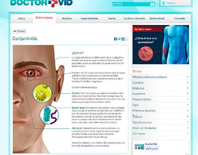 infographic design | Doctor VID website
